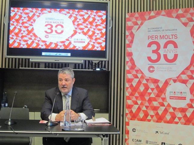 Miquel Àngel Fraile, Presidente de la Confederanción de Comercio de Catalunya