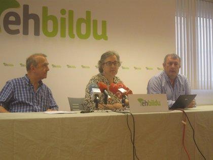 """EH Bildu dice que la conversión  BBK y Vital en fundaciones es """"corrupción legal"""""""