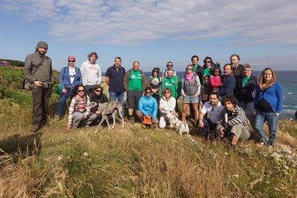 Un centenar de personas participan en la restauración del territorio y las jornadas didácticas