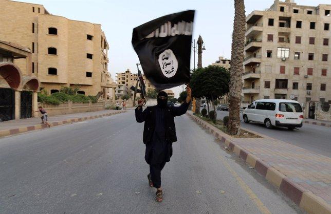 Miembro del Estado Islámico de Irak y Siria