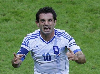 El capitán griego Karagounis se retira de la selección