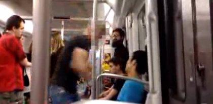 Identifican al agresor de un joven asiático en el Metro