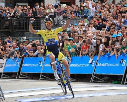 El Tinkoff-Saxo anuncia el equipo que arropará a Contador