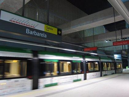 El metro inicia las pruebas en el trazado completo de las líneas 1 y 2 hasta el intercambiador de El Perchel