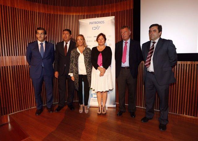 Acto de hospitales con Mosquera en A Coruña