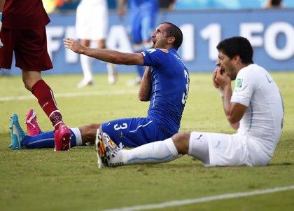 """Chiellini: """"Está todo olvidado, espero que la FIFA reduzca tu suspensión"""""""