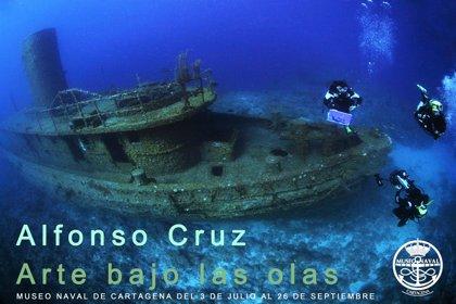 Museo Naval de Cartagena inaugura la muestra 'Arte bajo las olas'