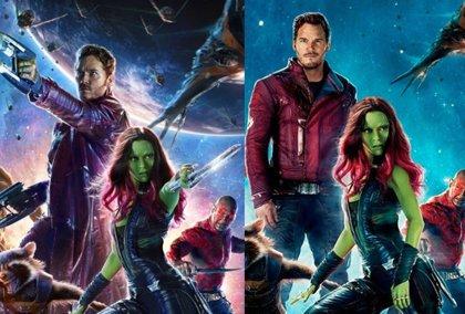 Los Guardianes de la galaxia, desarmados en un nuevo póster