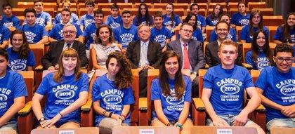 Medio centenar de estudiantes asturianos participan en los Campus Científicos de Verano