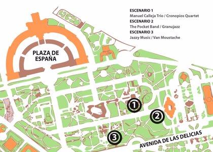 Sevilla.- Cultura.- El Ayuntamiento organiza este jueves el Festival Jazz in Green en el Parque de María Luisa