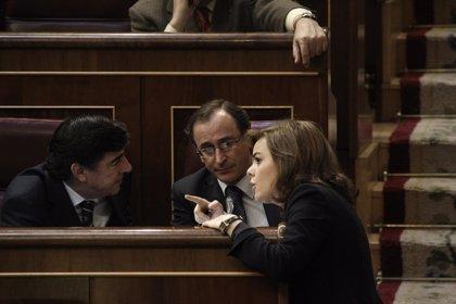 """Alonso remarca que el debate """"en serio"""" de los aforamientos se producirá en el Congreso con nueva ley del Poder Judicial"""