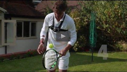Más de 400 toques con la raqueta le dan a Nadal un nuevo título: el de Wimbjuggledon