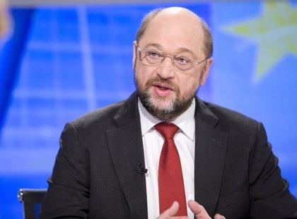 UE.- Schulz, reelegido presidente de Eurocámara gracias al pacto entre populares, socialistas y liberales