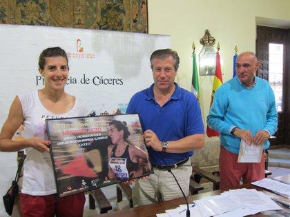 Más de 300 deportistas de ocho países participan en el XXVII Encuentro de Atletismo de Diputación de Cáceres