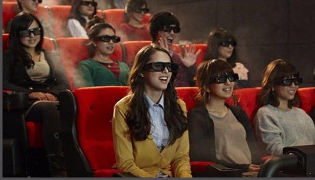 Cine 4DX en Los Ángeles