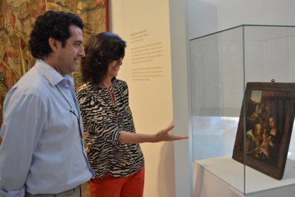 Cultura completa la exhibición del tapiz perdido de los Tudor con una tabla del mismo autor