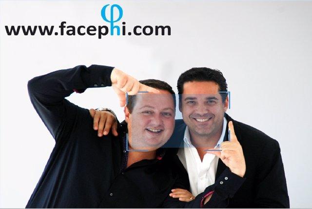 Salvador Martí, presidente de Facephi, y Javier Mira, vicepresidente