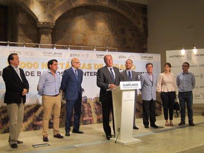 Las obras para el regadío en Barros y Monterrubio comenzarán en 2016