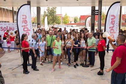 Más de 200 personas participan en 'la carrera de las rebajas' de Splau