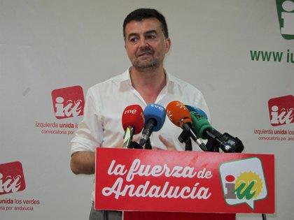 """Maíllo, sobre si Garzón podría ser el líder de IU: """"Lara es el coordinador, va a seguir siéndolo y ese debate no toca"""""""