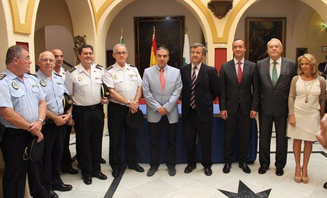 Estepona José María García Urbano, Policía, Francisco martínes, Seguridad