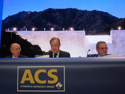 Economía/Empresas.- Crédit Agricole declara un 4,3% en ACS valorado en 453 millones de euros