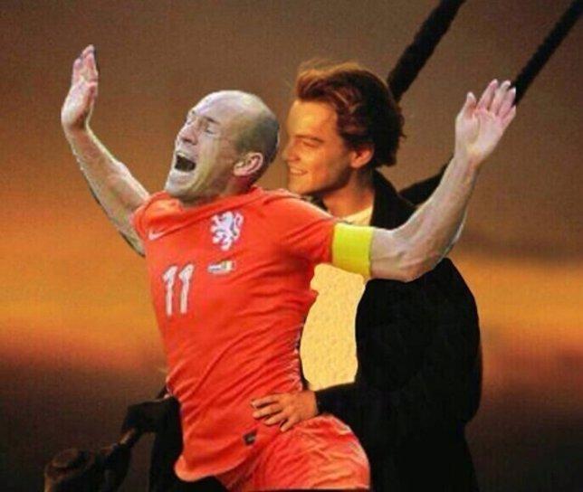 Memes de Robben