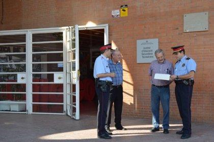 Los Mossos inician una campaña para evitar robos en escuelas de Lleida
