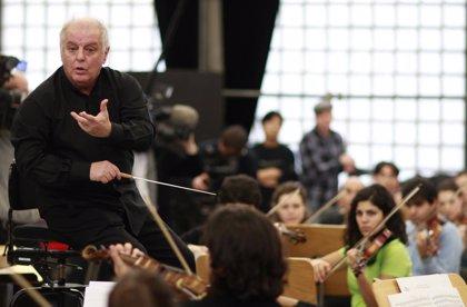 Daniel Barenboim homenajea a Strauss en la inauguración de Palau 100