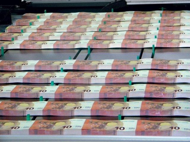 Fabricación de los nuevos billetes de 10 euros