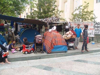 """Los sirios acampados en Ceuta alegan que su desalojo sería """"ilegal"""""""