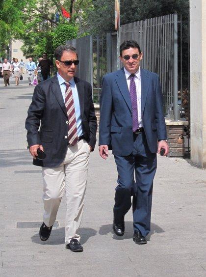 """Bascuñana dice estar """"tranquilísimo"""" a su llegada a los juzgados para declarar como imputado en Novo Carthago"""