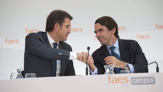 Feijóo y Aznar