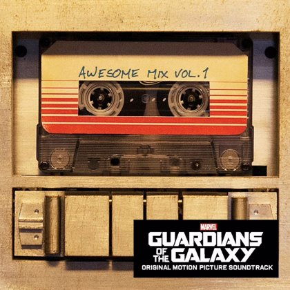 Awesome Mix Vol. 1: Así es la música de Guardianes de la galaxia