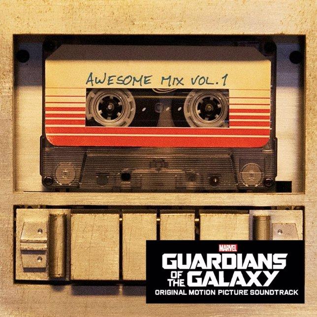 Banda sonora de  Guardianes de la galaxia