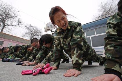 Campamentos para curar la adicción a Internet en China