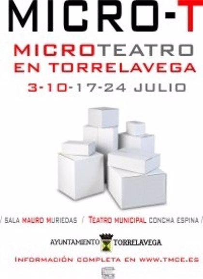 Torrelavega.- El ciclo de Micro Teatro comienza mañana en el TMCE