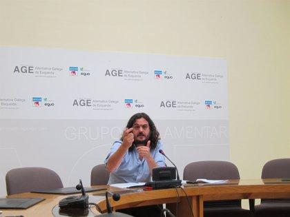 """AGE exige que Conde informe del impacto """"exacto"""" de la reforma eléctrica en el canon de Sogama y si """"hay que corregirlo"""""""