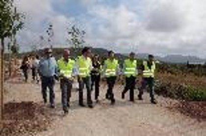 Las obras de la vía verde Manacor-Artà, ejecutadas en un 70%, finalizarán en septiembre
