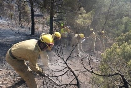 CC.OO de CyL acusa a la Junta de recortar el operativo contra incendios y provocar la caída de los sueldos