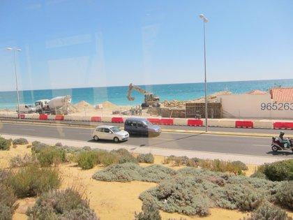 Conselleria de Infraestructuras confirma que las obras en la fachada litoral norte estarán este julio