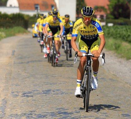 Contador reconoce la etapa de los adoquines en Arenberg del Tour