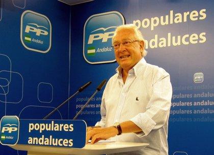 """PP-A lamenta el """"hundimiento"""" de la obra pública en Andalucía por la """"renuncia"""" de la Consejería de Fomento"""