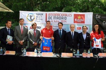 Presentada la primera edición de los Internacionales Ciudad de Madrid de voley playa