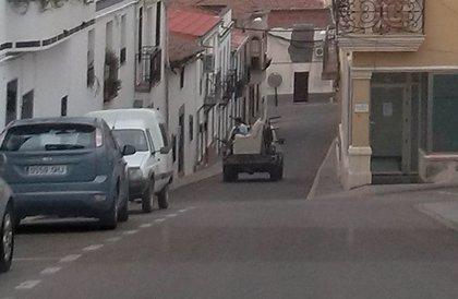 IU critica el uso indebido de coches oficiales por parte de un concejal del PP en Espiel