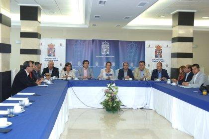 Guarinos: El endeudamiento de la Diputación de Guadalajara está en un 60% comparado con el 166% de 2011