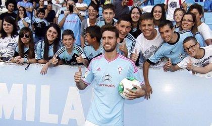 """Sergi Gómez: """"El Celta es una gran oportunidad en mi carrera"""""""