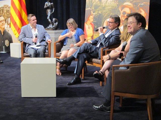 El presidente de la Generalitat A.Mas