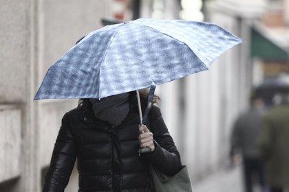 Activado el aviso amarillo este jueves y viernes en Euskadi por precipitaciones intensas
