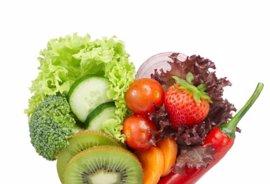 Colores sanos y vitales en la mesa